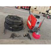 Машина для прочистки канализации GQ-160-22